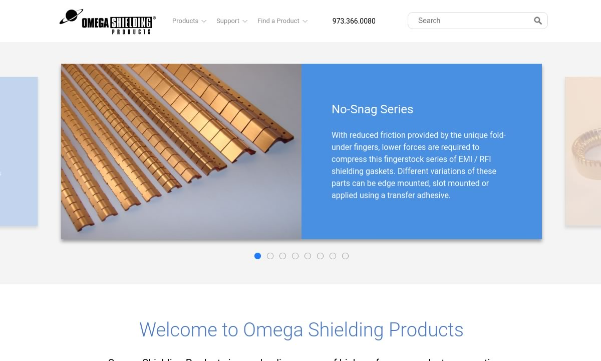Omega Shielding® Products