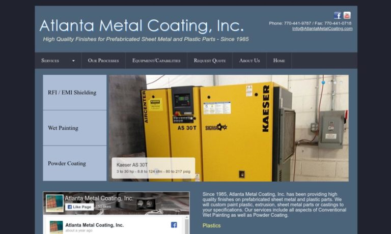 Atlanta Metal Coating, Inc.