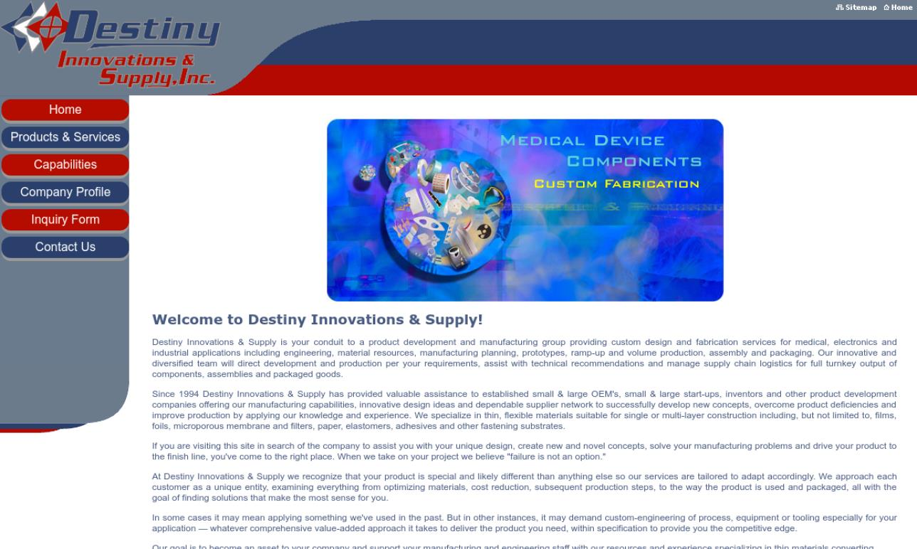 Destiny Innovations & Supply, Inc.