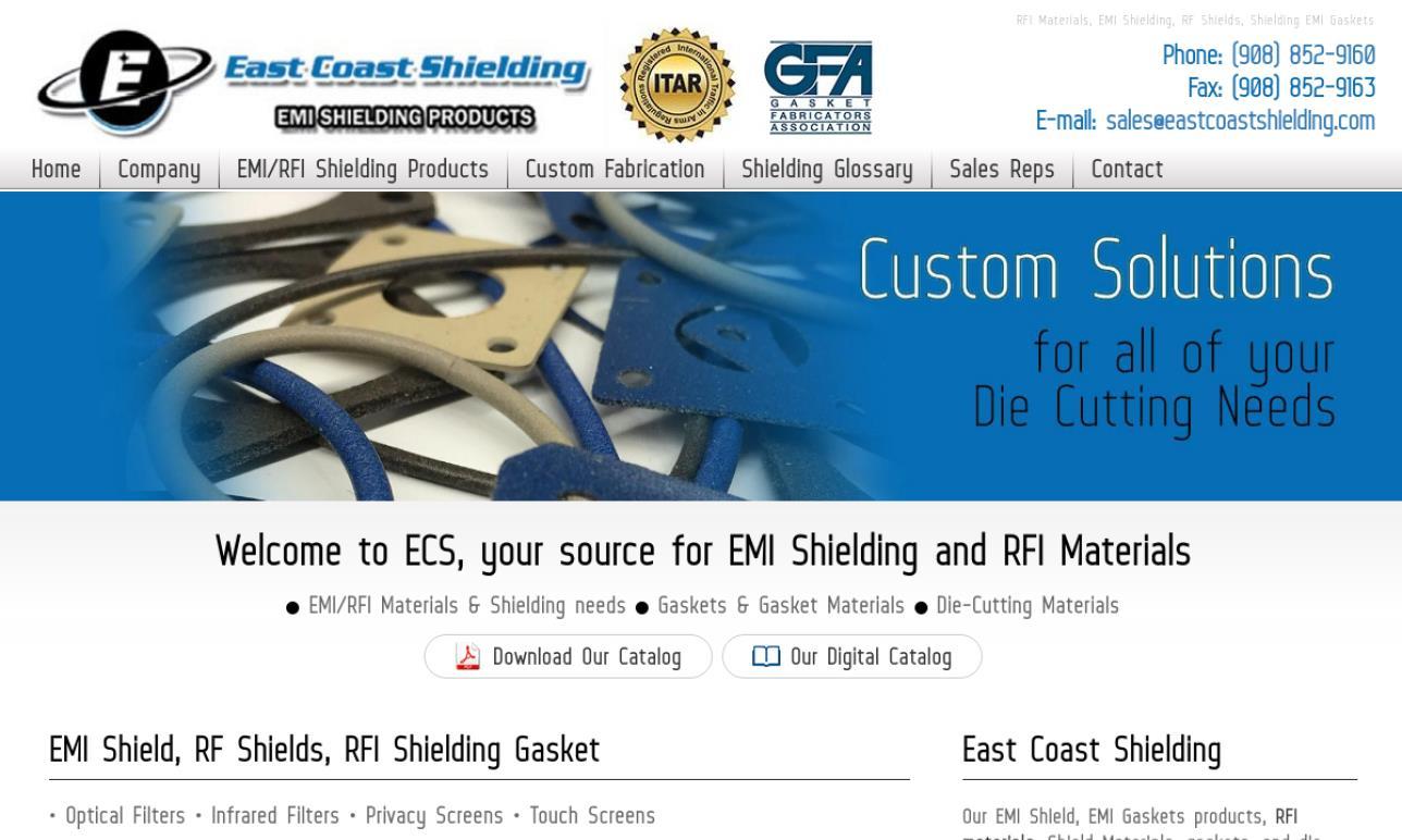 East Coast Shielding