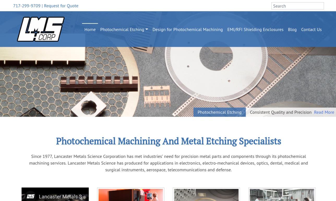 Lancaster Metals Science Corporation