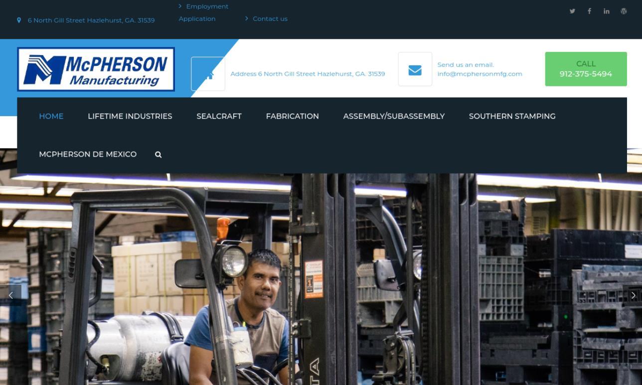 McPherson Manufacturing