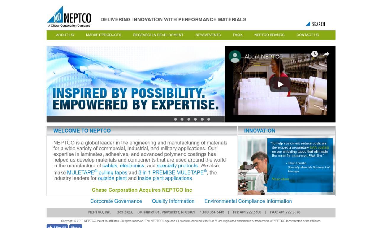 NEPTCO, Inc.