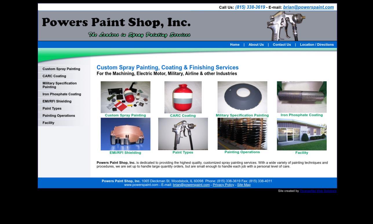 Powers Paint Shop, Inc.