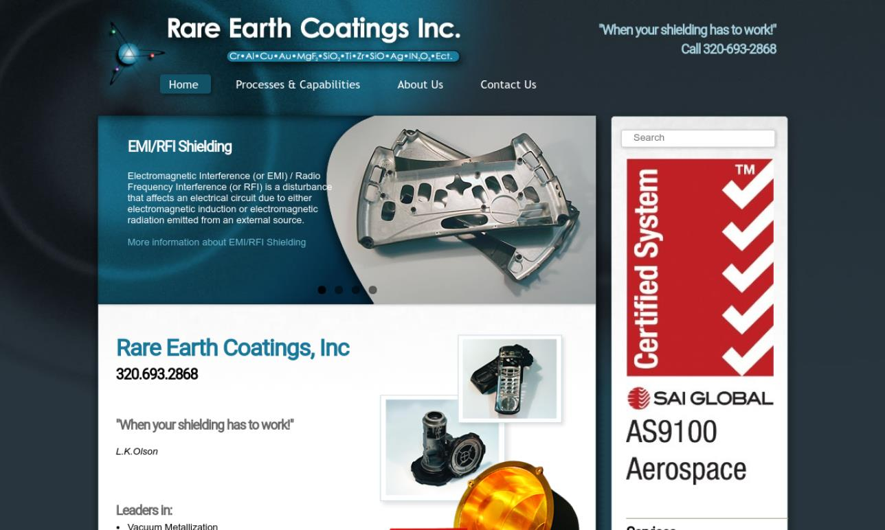 Rare Earth Coatings, Inc.