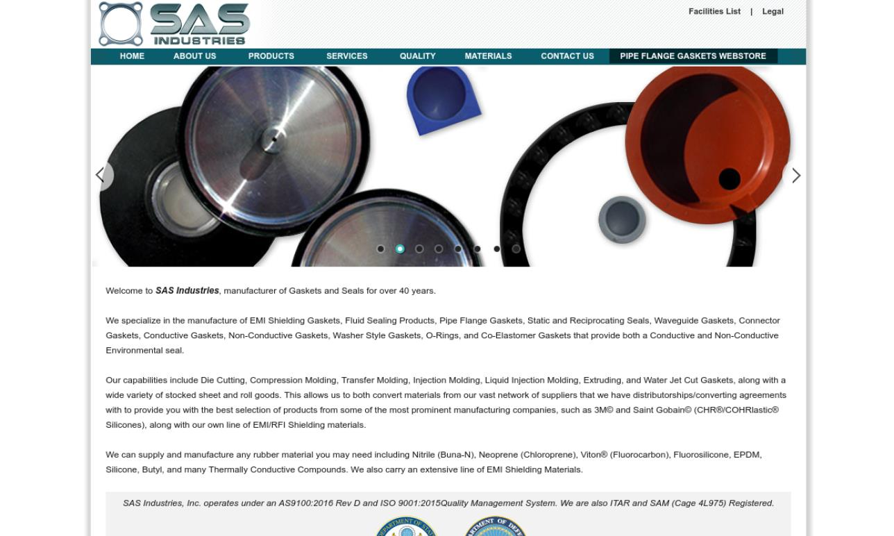S.A.S. Industries, Inc.