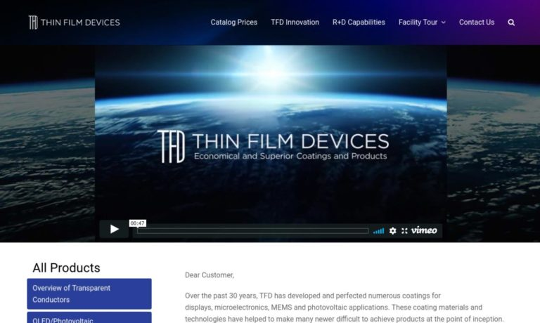 Thin Film Devices, Inc.